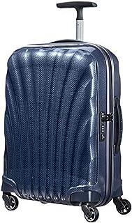 Samsonite 新秀丽 Cosmolite系列 拉杆箱 V22 深蓝色 20英寸 万向轮 CURV材质 TSA海关密码锁(美国品牌 )