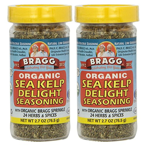 Bragg, Organic Sea Kelp Delight Seasoning, 2.7 oz (76.5 g) - 2pc