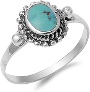 CHOOSE YOUR COLOR Sterling Silver Nugget Ring