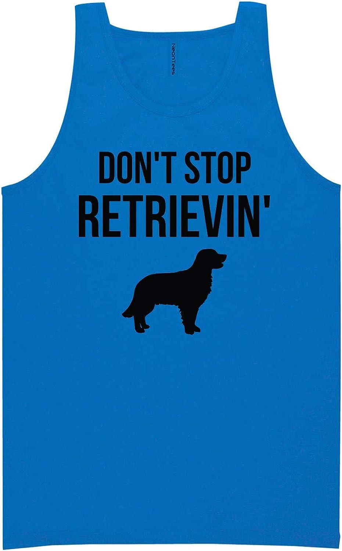 zerogravitee Don't Stop Retrievin' Neon Blue Tank Top - XX-Large