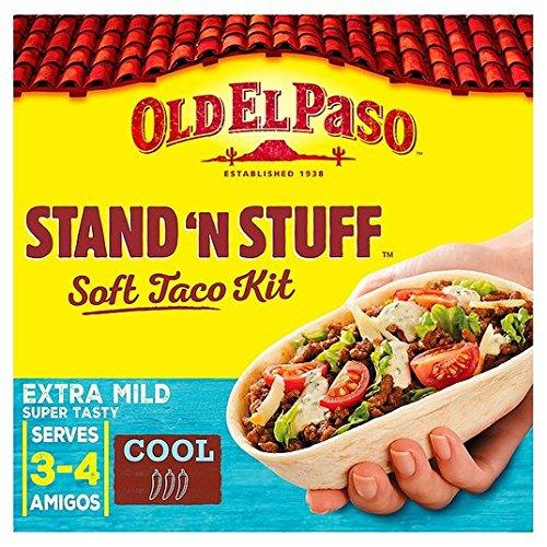 Old El Paso soporte 'N' Stuff Soft Taco Kit 329g Extra Suave