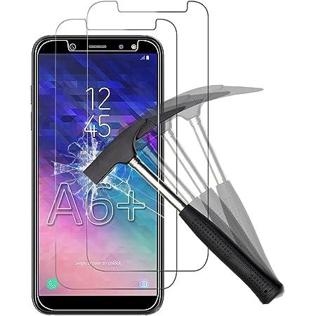 ANEWSIR [2 Pack] Pellicola Protettiva per Samsung Galaxy A6 Plus, Samsung A6 Plus Vetro Temperato, Samsung A6 Plus Pellicola Protettiva Resistente con Durezza 9H Anti-Bolla Alta Definizione.