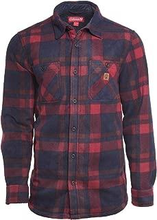 Coleman Sherpa Bonded Printed Fleece Shirt Jackets for Men