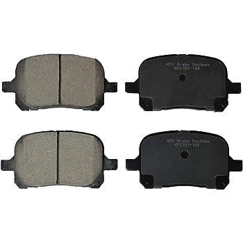 Premium Ceramic Disc Brake Pads REAR Fits Toyota Camry US Avalon Solara KFE828
