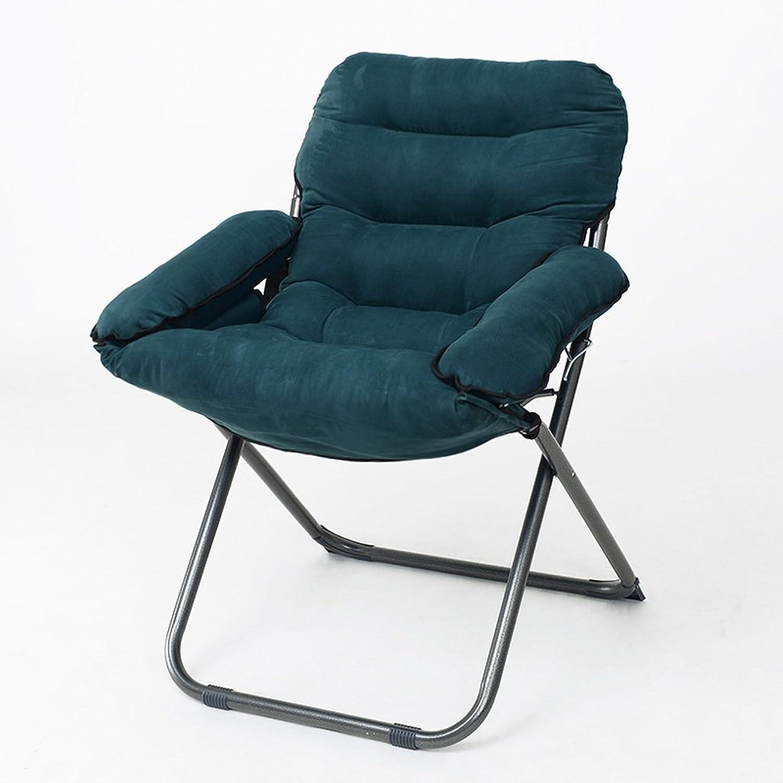 Djyyh Folding Chair Lazy Radar Chair Lunch Break Folding Backrest Chair Sun Moon Chair Sunset Sofa (color   3)