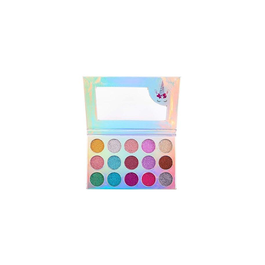 不機嫌そうな年金請願者(3 Pack) BEAUTY CREATIONS Unicorn Dream Glitter Eyeshadow Palette (並行輸入品)