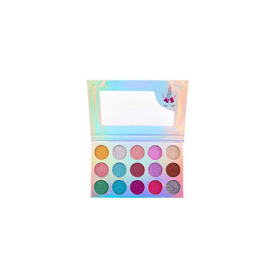 隠された自発的高度な(6 Pack) BEAUTY CREATIONS Unicorn Dream Glitter Eyeshadow Palette (並行輸入品)