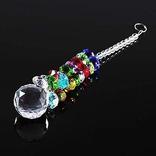 Crystal Suncatcher Pendant, Beautiful Decoration Ball Prism Pendulum Decor, for Window lamp Indoor Home