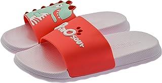 ChayChax Zapatillas de Baño para Niños Ligero Bañarse Chanclas de Casa Suave Zapatos de Playa y Piscina para Niña Niño,Ros...