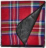 Black Crevice–Tovaglia da picnic, colore rosso, taglia 190 x 135 cm...