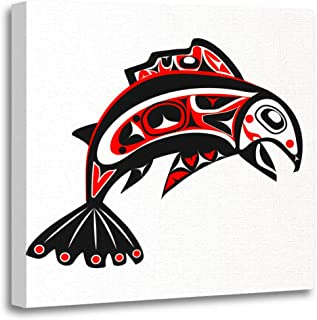 Best northwest native american art salmon Reviews