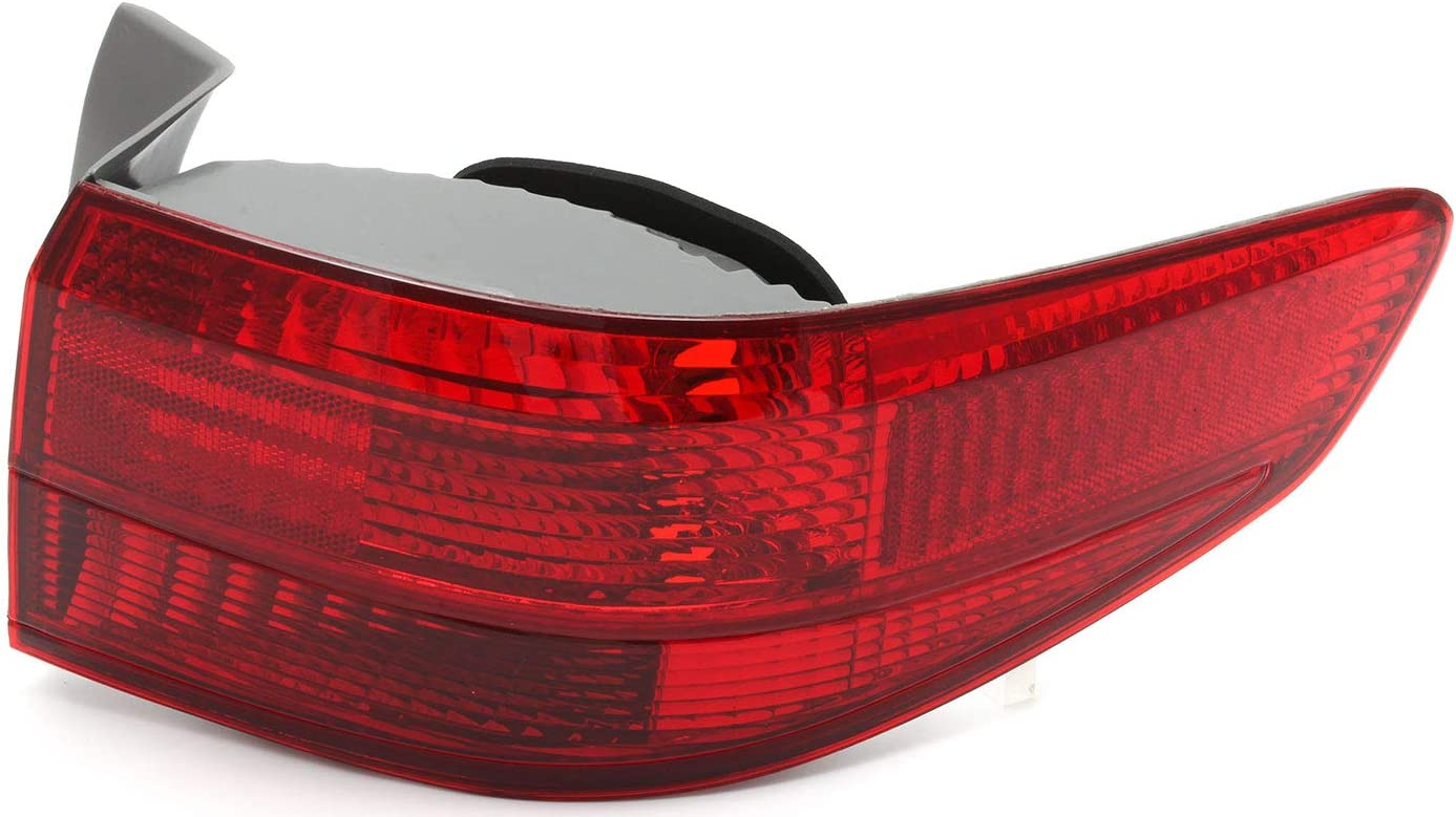 JP Auto 評判 Outer Tail Light Compatible 2005 Sedan Honda お得 With Accord