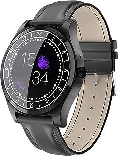 YZY Reloj Inteligente de la versión 2019, Pulsera Actividad con Monitor de frecuencia cardíaca y Monitor de sueño, Rastreador de Actividad Impermeable con Reloj podómetro para Hombres Mujer