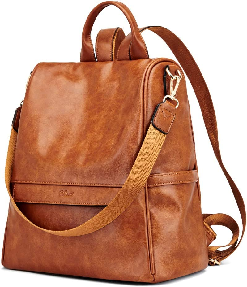 Reservation CLUCI Womens Backpack Purse Max 40% OFF Fashion Bag Leather La Travel Ladies