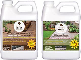 Clean And Protect Your Composite Deck, Composite Or PVC Fencing, Pavers, Sidewalks And Many Other Outdoor Surfaces. Clean Once Every Three Years Instead Of Every Spring.