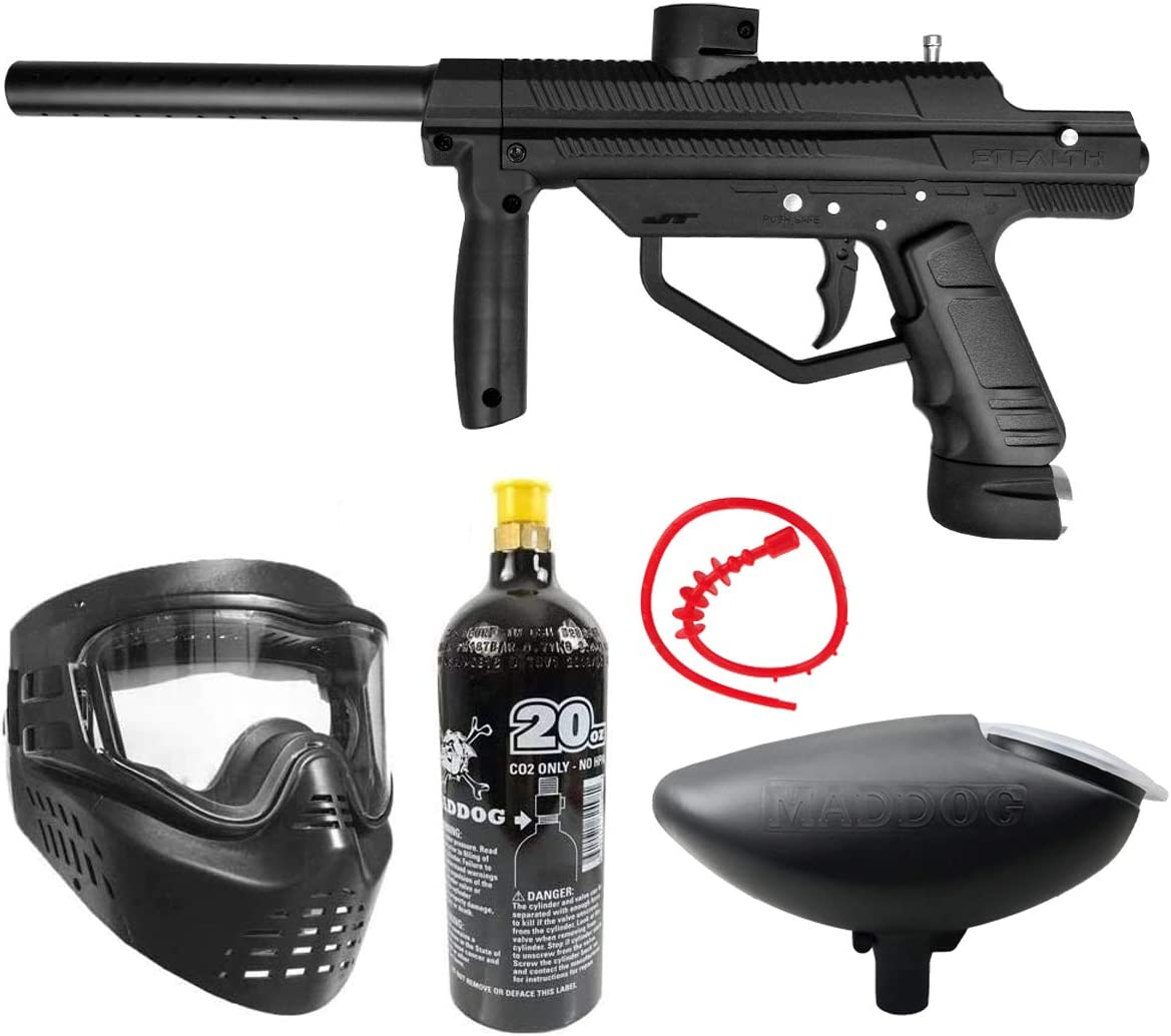 Maddog JT Stealth Semi-Automatic .68 Caliber Paintball Gun