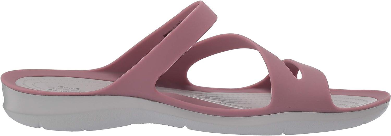 Crocs Swiftwater Sandalen voor dames Cassis Pearl White