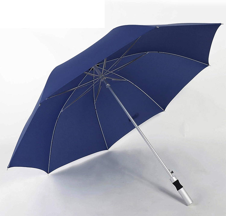 Inexpensive WWDKF All-Fiber Golf Japan's largest assortment Umbrella with Dura Extra Long Handle Large
