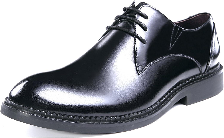 Gaofu Yinxiang Men's Formal Polished Leather Lace Up shoes