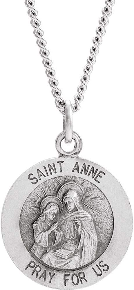 Ryan Jonathan Fine Limited price famous sale Jewelry Sterling Medal Silver Pendan Anne St.