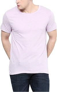 Yepme Men's Purple Blended Tees (Size - L) (EAN : 8907309402240)