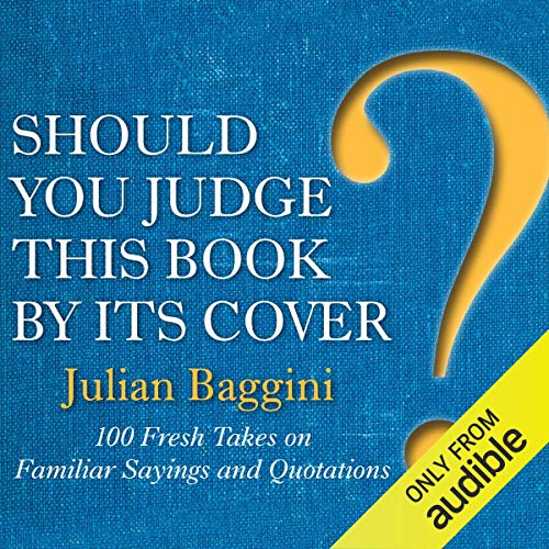 Should You Judge This Book by Its Cover? audiobook cover art