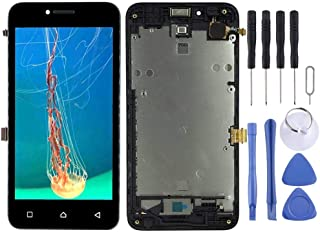 SHUHAN LCD Screen Phone Repair Part LCD Screen and Digitizer Full Assembly with Frame for Lenovo Vibe B A2016 A2016a40 A20...