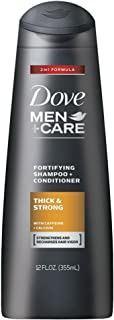 Dove Men + Care Fortifying Shampoo Thickening 12 oz (8 Pack)