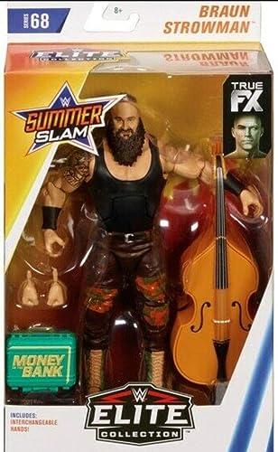 envío gratuito a nivel mundial marrón Strowman WWE Elite Figura Lucha Libre Libre Libre Mattel Serie 68  para barato