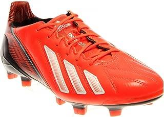 adidas F50 adiZero Leather TRX FG Soccer Shoes (Infrared) 7.5