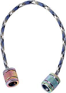 QR-BHRTY Toy, Aluminum Alloy Begleri Fidget Toy Worry Beads Finger Skill Paracord Stress Toys