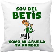 Diver Bebé Cojín con Relleno Soy del Betis como mi Abuela ...