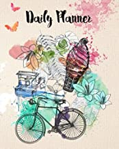 Daily Planner: Time Management Journal to Do List Planner Daily Task Meals Exercise Notebook Organizer