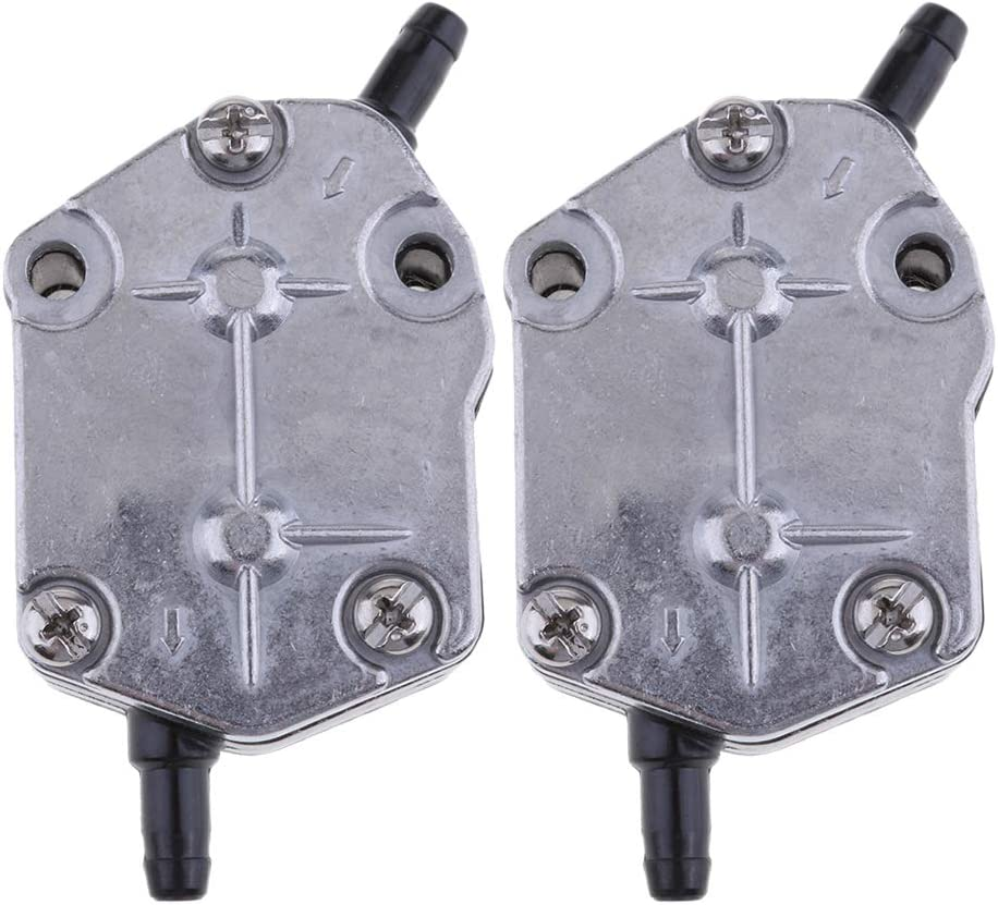 D DOLITY 2pcs depot Outboard Max 51% OFF Fuel Pump Assy - for 85HP 2 25HP Yamaha S