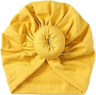 Ogquaton Bandeau élastique de qualité supérieure pour bébé Nouveau-né de Couleur Solide avec des Cheveux pour bébé Fille