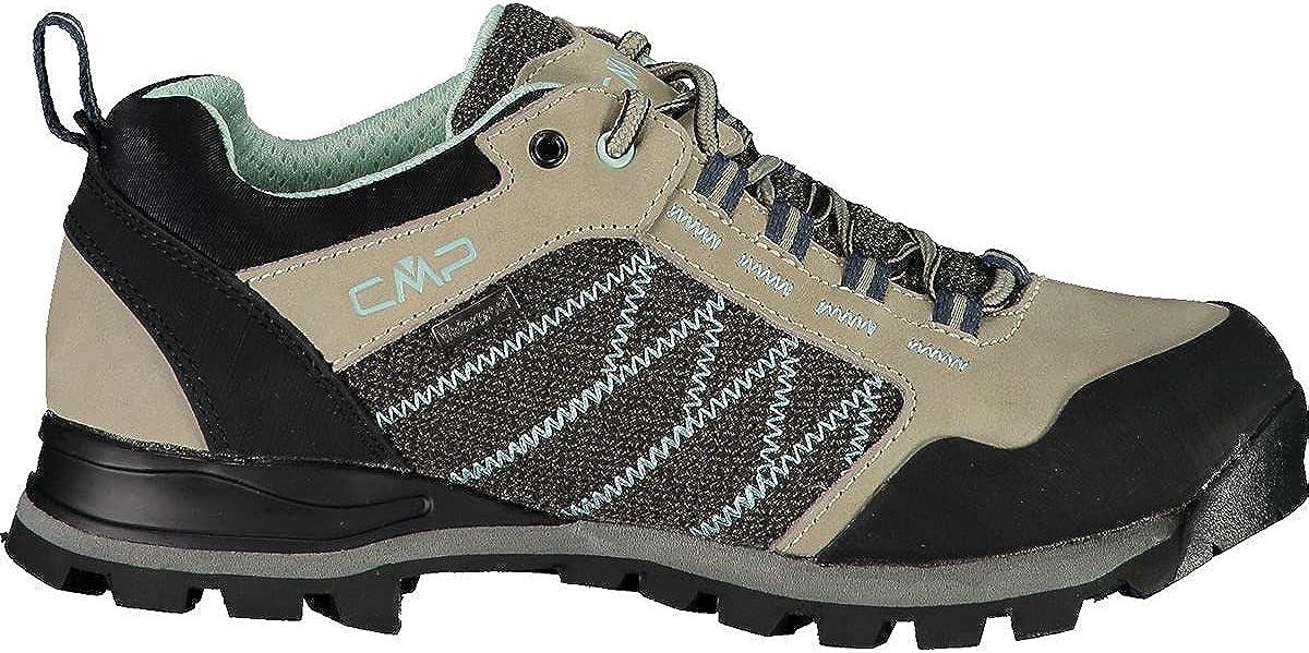 CMP Thiamat Low Wmn Trekking Shoe WP, Women's Hiking Shoes, Sand, 6 US
