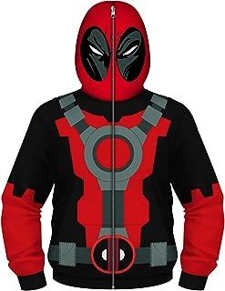 Kids Wade Winston Wilson Zip Up Sweatershirt Party Hoodie Cool Jacket Cosplay Costume