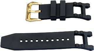 Vicdason for Invicta Subaqua Noma III Watch Bands Replacement Strap - Black Rubber Silicone Invicta Watch Strap