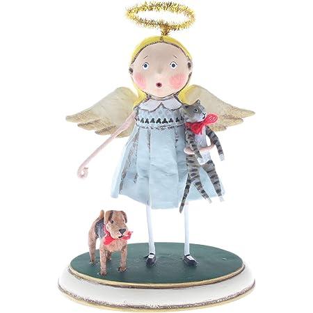 Santa/'s Sleigh Ride Lori Mitchell Christmas Figurine NIB Free Shipping