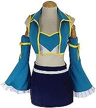 LYLAS Women's Blue Maid Party Dress Set Cosplay Costume