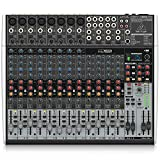 Behringer XENYX X2222USB mezclador DJ, Mezclador para DJ, 24 Bit, 43 cm, 35.5 cm, 9 cm, 22 puertos
