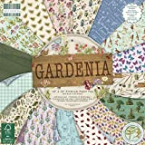 First Edition 12'x12' Sheets Gardenia Premium Paper Pad x 30,5 cm 48 Fogli (FSC), Multicolore, 1, Multi Colour, 1