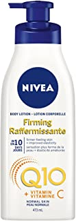 NIVEA Q10 + Vitamin C Firming Body Lotion for Normal Skin (473 mL), Firming Moisturizing Skin Care Formula, Antioxidant En...