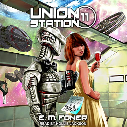 Review Night on Union Station audiobook cover art