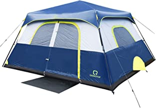 OT QOMOTOP Tents, 4/6/8/10 Person 60 Seconds Set Up Camping Tent, Waterproof Pop Up Tent with Top Rainfly, Instant Cabin T...