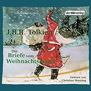 Die Briefe vom Weihnachtsmann                   Autor:                                                                                                                                 J.R.R. Tolkien                               Sprecher:                                                                                                                                 Christian Hoening                      Spieldauer: 1 Std. und 5 Min.     55 Bewertungen     Gesamt 4,4
