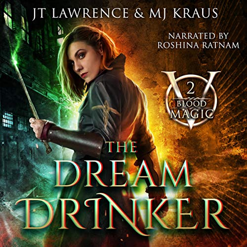 The Dream Drinker audiobook cover art