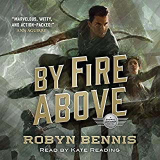 By Fire Above audiobook cover art