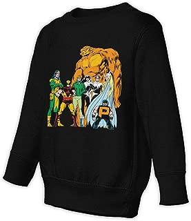 Ryantey Alpha Flight Pullover Toddler Juvenile Sweatshirt Hoodies Black