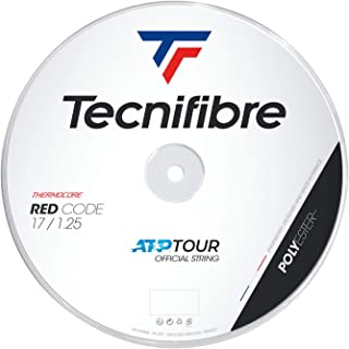 Tecnifibre 200M-PRO Rewind 1.25 Unisex Adult Tennis Rope - Red, Single